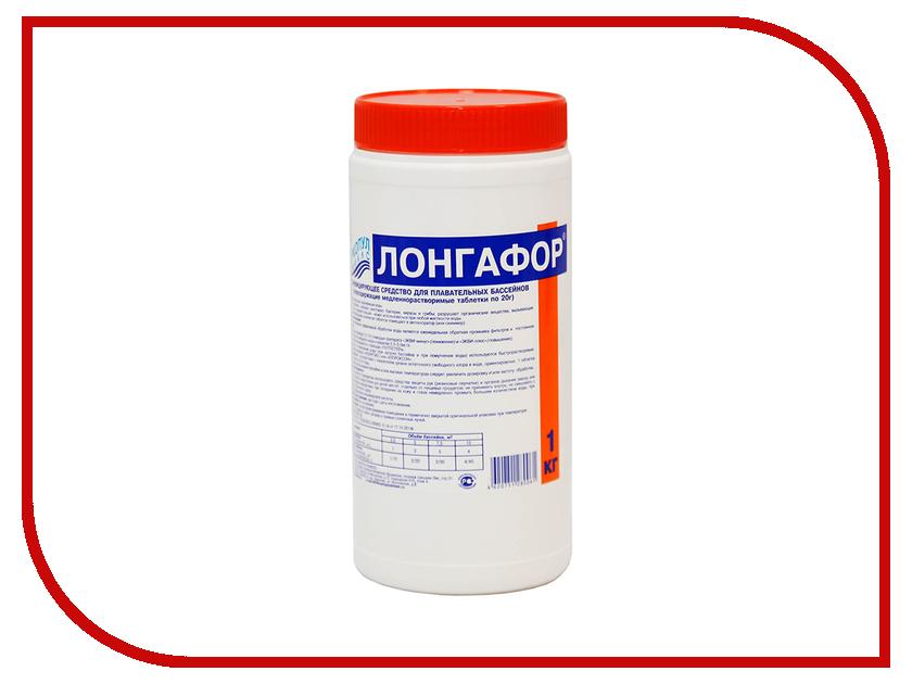 Хлор для непрерывной дезинфекции воды Маркопул-Кэмиклс Лонгафор медленнорастворимый 1кг (ведро) М18
