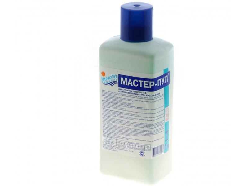 Жидкое безхлорное средство Маркопул-Кемиклс Мастер-Пул 1л М20