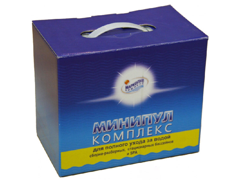 Набор химии Маркопул-Кемиклс Мини-Пул 5.6кг М22