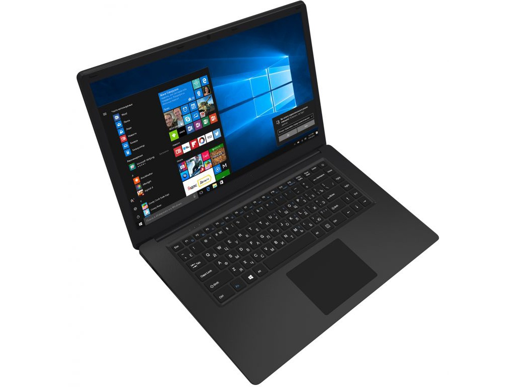 Ноутбук Digma CITI E601 Black (Atom x5-Z8350 1.44 GHz/4096Mb/32Gb SSD/Intel HD Graphics/Wi-Fi/Bluetooth/Cam/15.6/1920x1080/Windows 10 Home 64-bit)