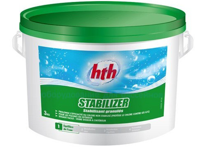 Стабилизатор хлора HTH 3kg S800612H1