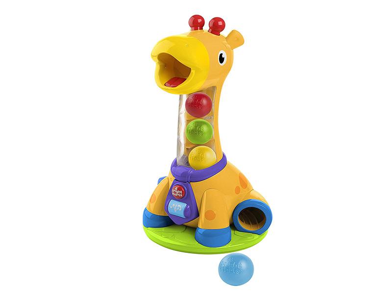 Игрушка Bright Starts Веселый жирафик прорезыватели bright starts игрушка самый мягкий друг с прорезывателями