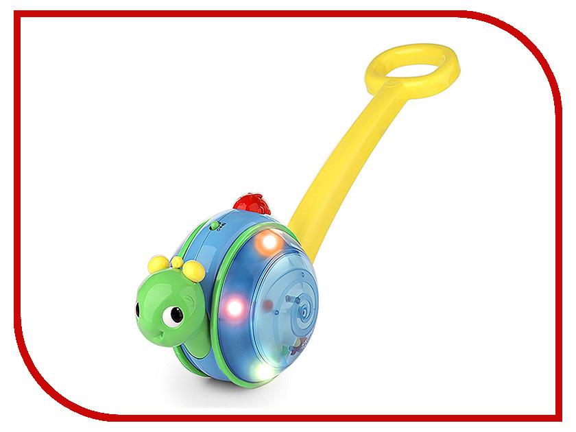 Каталка Bright Starts Музыкальная улитка (10935) со звуковыми эффектами каталка улитка b kids