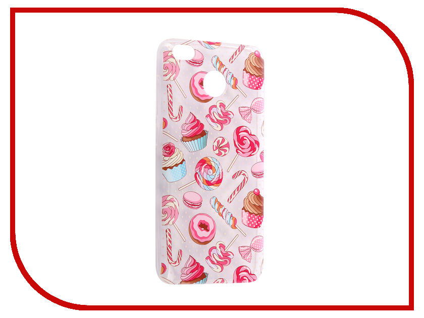 Аксессуар Чехол Xiaomi 4X iPapai Ассорти, Сладости 120120_X4X аксессуар чехол ipapai ассорти сладости silicone для apple iphone 7 120120 7