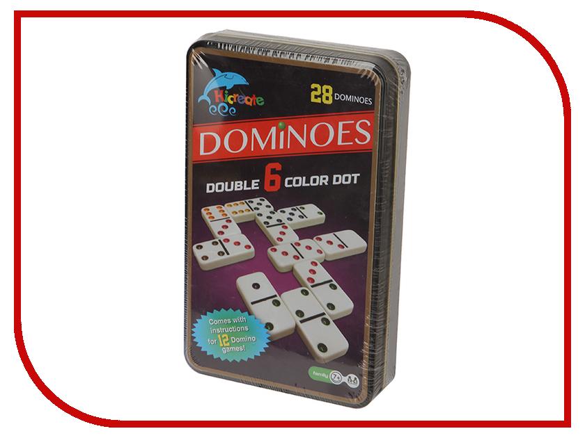 Настольная игра Hicreate Домино Ни10 настольная игра домино стеллар хорошие знакомые 9
