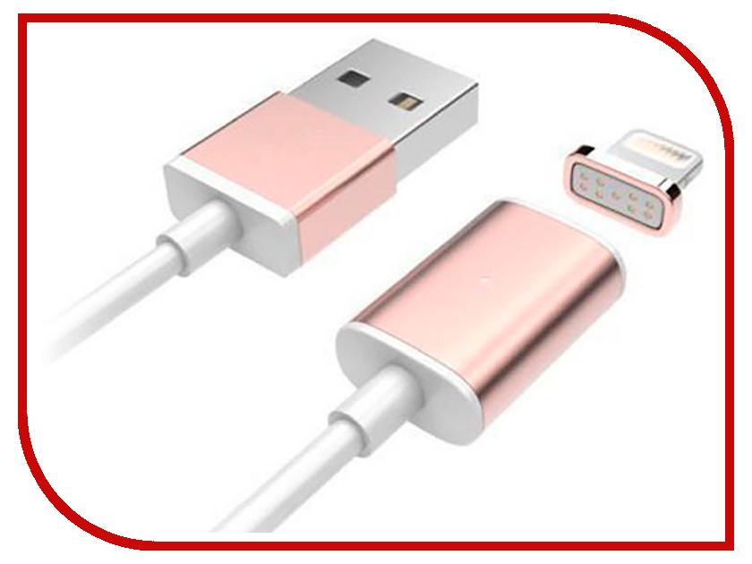 Аксессуар Earldom ET-MC06 USB - Lightning 8pin White-Pink earldom et e1 pink