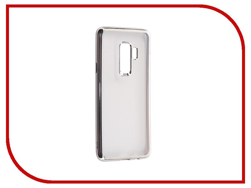 Аксессуар Чехол для Samsung S9 Plus G965F Svekla Silicone Flash Silver Frame SVF-SGG965F-SIL аксессуар чехол для huawei honor 9 svekla flash silver svf hwh9 sil