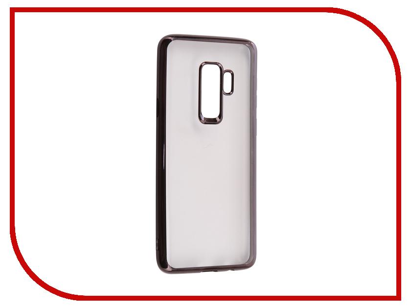 Аксессуар Чехол для Samsung S9 Plus G955F Svekla Silicone Flash Black Frame SVF-SGG965F-BL цена