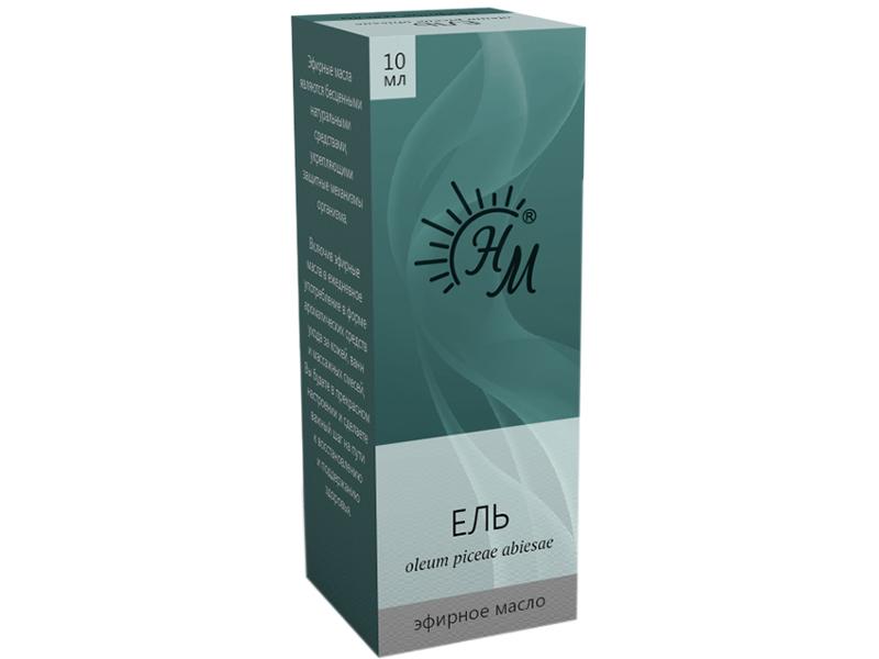 Масло эфирное Натуральные масла Ели 10ml
