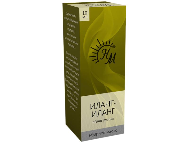 Масло эфирное Натуральные масла Иланг-Иланга 10ml