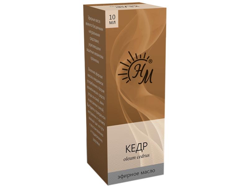 Масло эфирное Натуральные масла Кедра 10ml