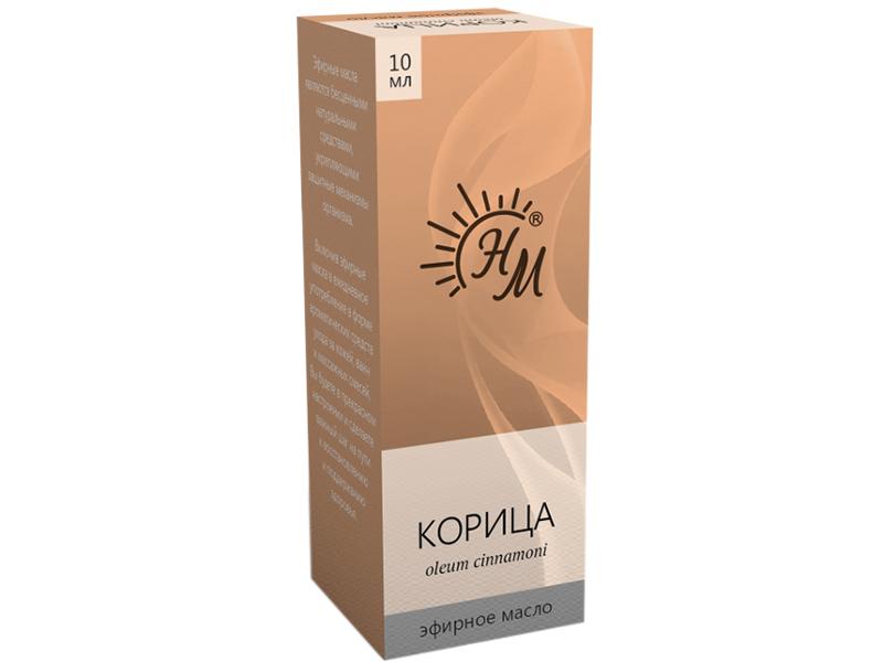 Масло эфирное Натуральные масла Корица 10ml