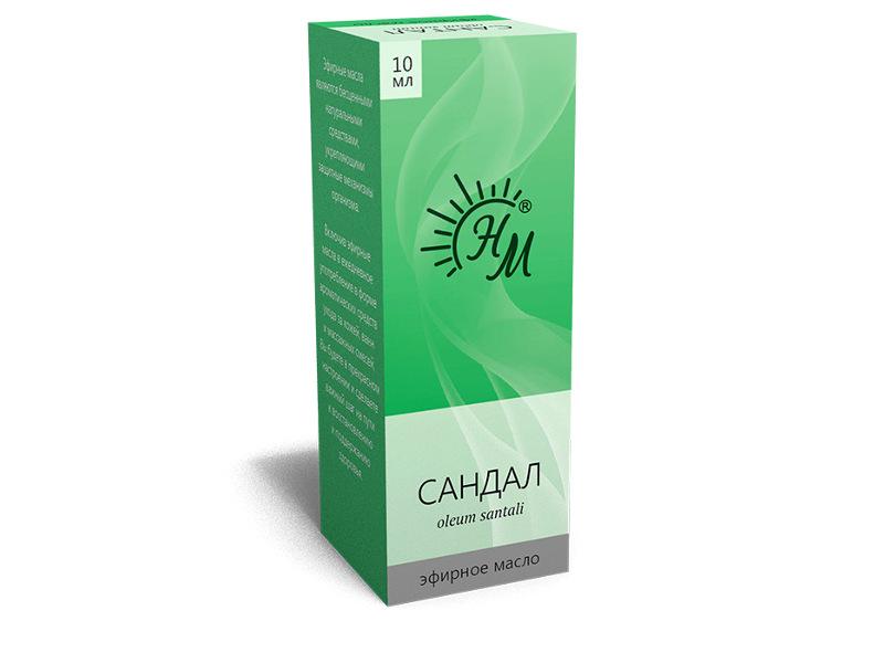 Масло эфирное Натуральные масла Сандала 10ml цена