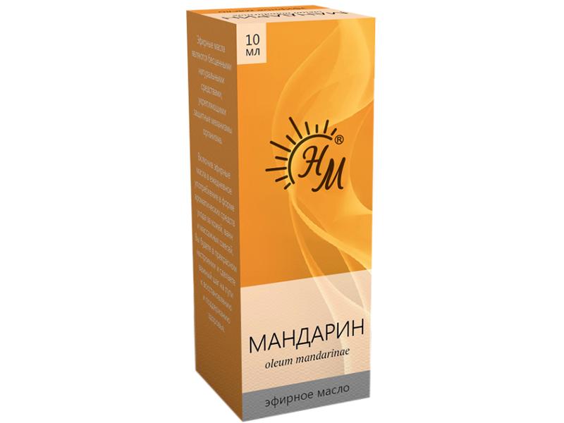 Масло эфирное Натуральные масла Мандарин 10ml