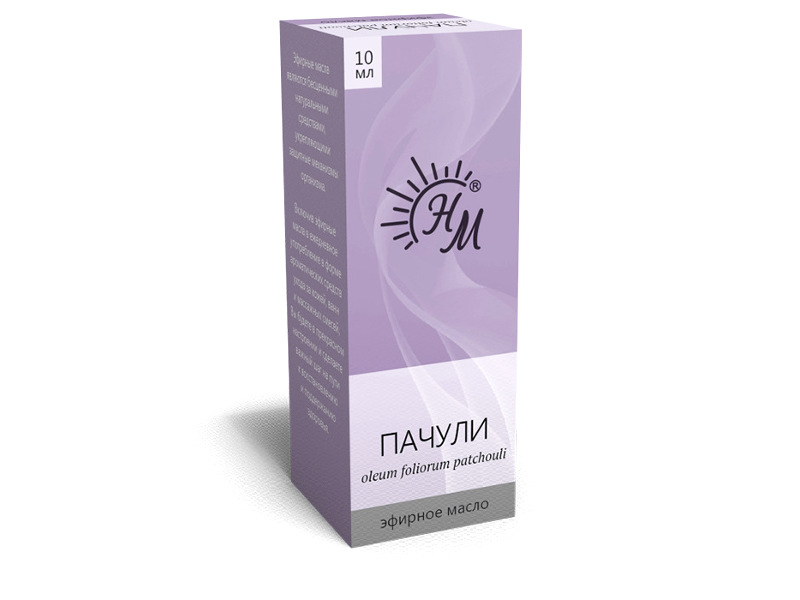Масло эфирное Натуральные масла Пачули 10ml