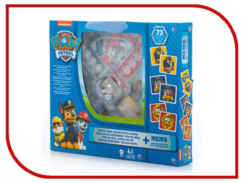 Настольная игра Spin Master Щенячий патруль 2в1 6036439 футболка щенячий патруль