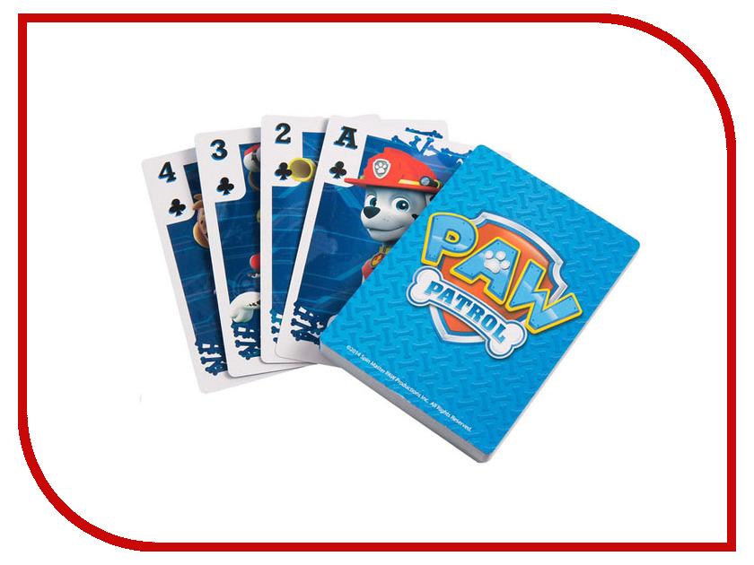 Настольная игра Spin Master Игровые карты для детей Щенячий патруль 6033298