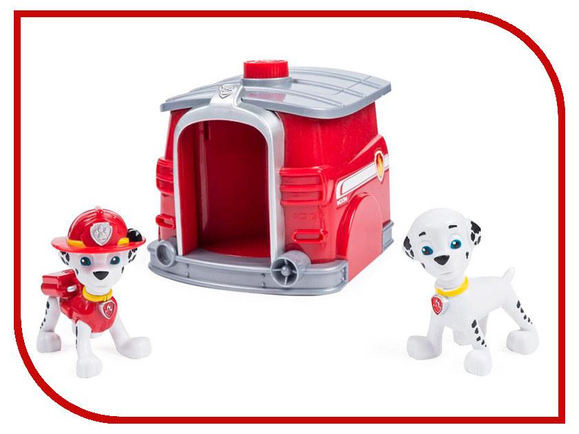 Игрушка Spin Master Два щенка в домике Щенячий патруль - Маршал 16660-Mar игровой набор paw patrol два щенка в домике 16660 mar