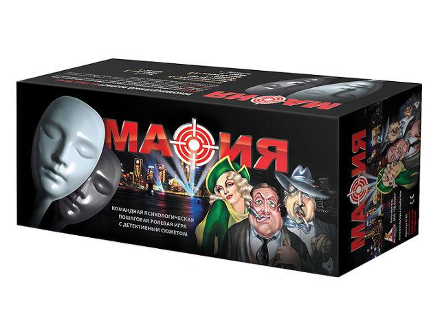 Настольная игра Нескучные игры Игра Мафия 8100