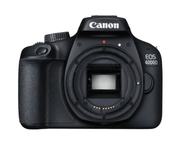 Фотоаппарат Canon EOS 4000D Body Black зеркальный фотоаппарат canon eos 2000d kit black