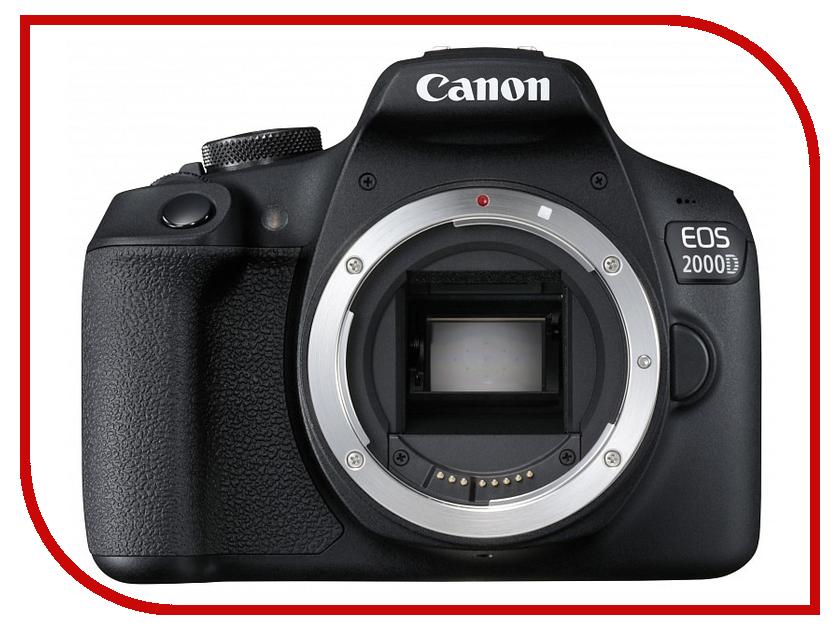 цена на Фотоаппарат Canon EOS 2000D Body Black
