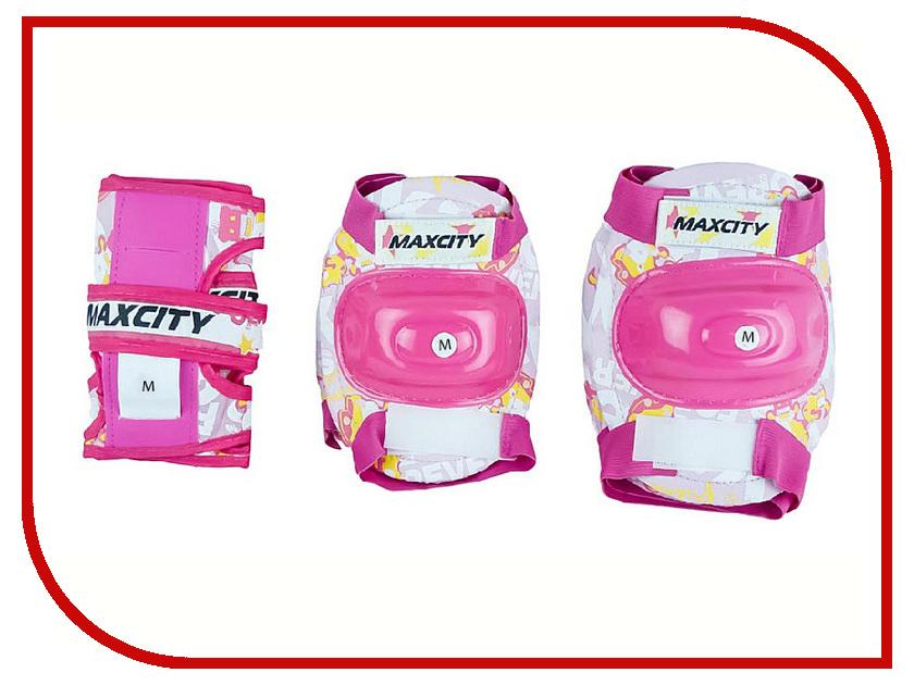 Комплект защиты Maxcity Teddy M Pink