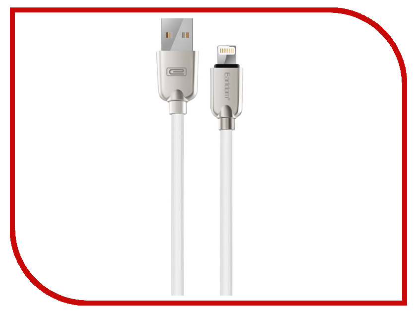 Аксессуар Earldom ET-005I USB - Lightning 8pin White earldom et e3 green