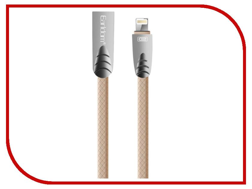 Аксессуар Earldom EC-006I USB - Lightning 8pin Gold