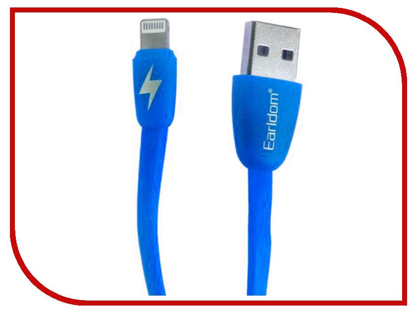 Аксессуар Earldom EC-004I USB - Lightning 8pin Blue держатель seiko ec 158
