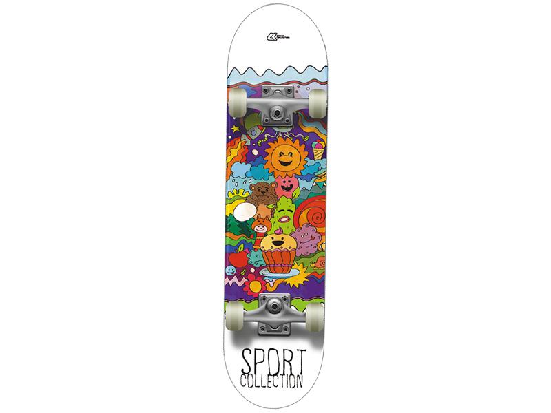 Скейт СК (Спортивная коллекция) Muffin