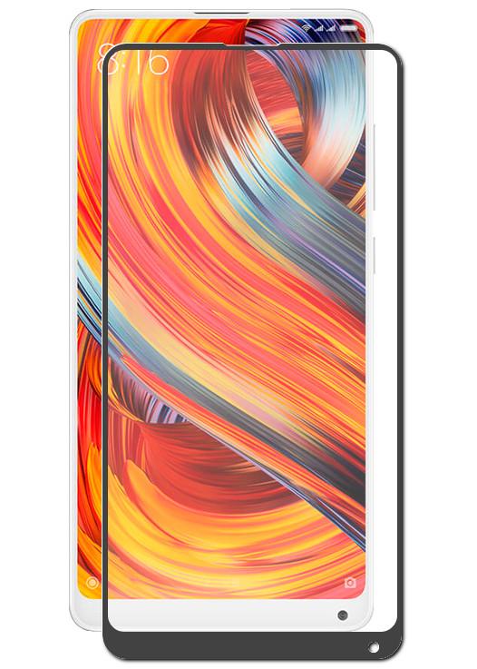 Аксессуар Защитное стекло DF для Xiaomi Mi Mix 2S xiColor-29 Black защитное стекло xiaomi mi mix 2s прозрачный