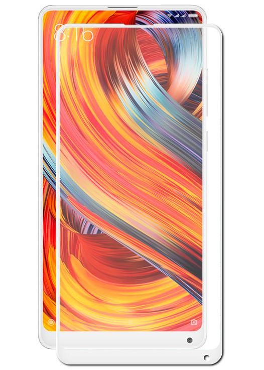 Аксессуар Защитное стекло DF для Xiaomi Mi Mix 2S xiColor-29 White защитное стекло xiaomi mi mix 2s прозрачный