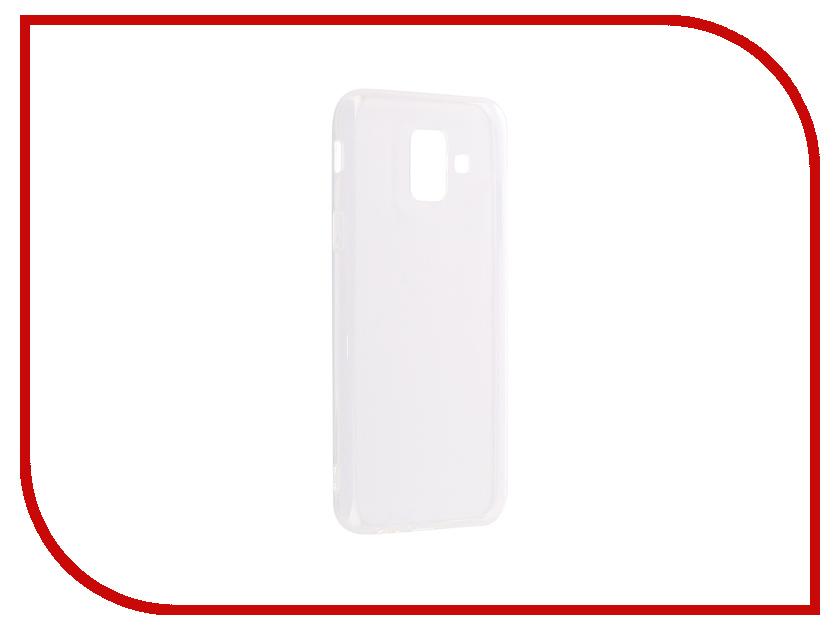 Аксессуар Чехол для Samsung Galaxy A6 2018 DF sCase-60 аксессуар чехол samsung galaxy j1 mini 2016 df scase 26 rose gold