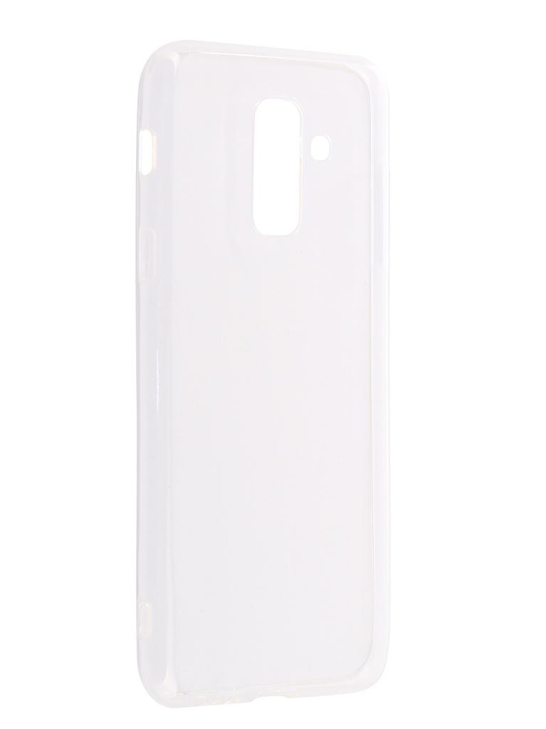 Аксессуар Чехол DF для Samsung Galaxy A6 Plus 2018 sCase-61 аксессуар чехол накладка samsung galaxy j3 2016 df scase 10