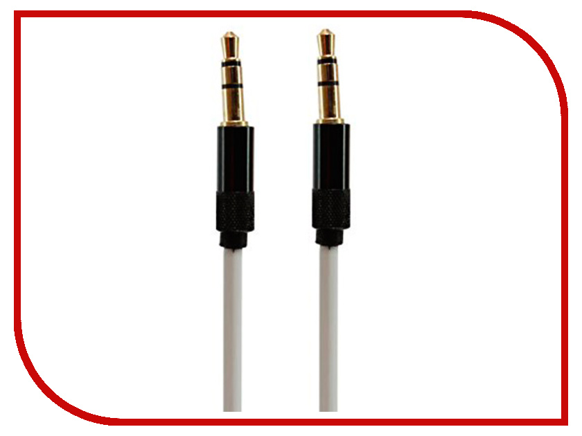 Аксессуар Earldom Aux-10 Jack 3.5mm - Jack 3.5mm White