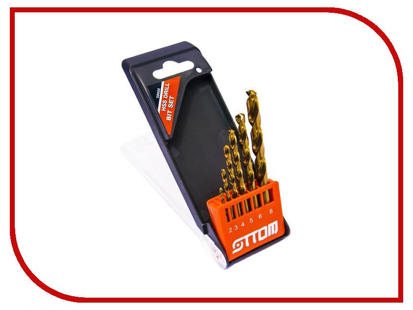 Сверло Ottom по металлу (6шт) 59002