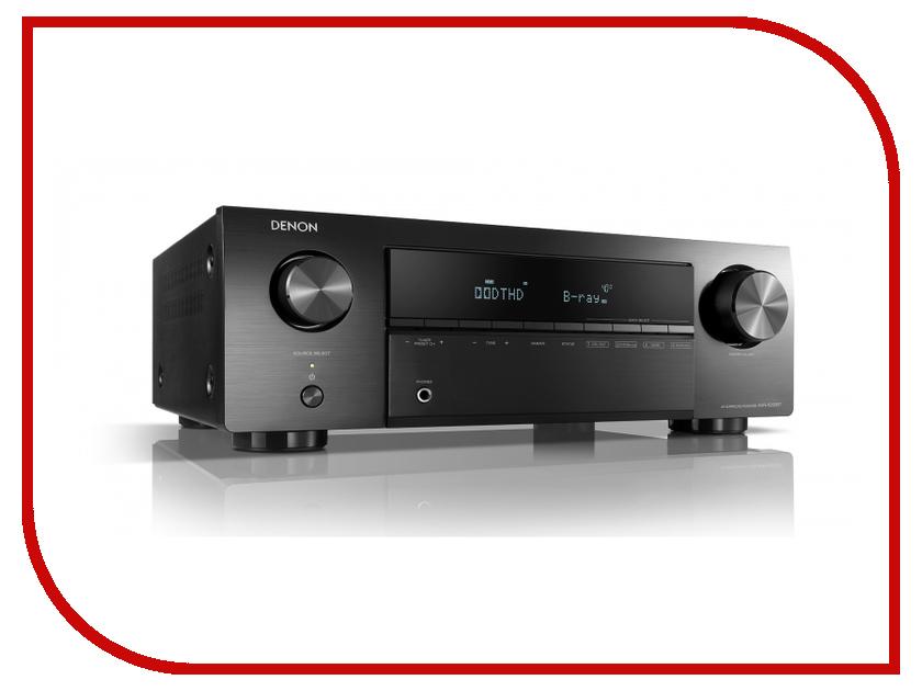 Ресивер Denon AVR-X250BT Black AVRX250BTBKE2