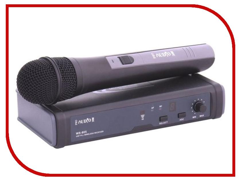 Радиосистема ProAudio WS-805HT-A цифровой диктофон olympus ws 806 ws 806