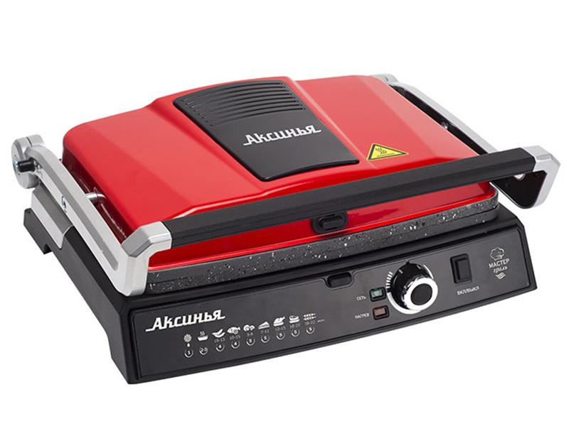 Электрогриль Аксинья КС-5210 Red-Black