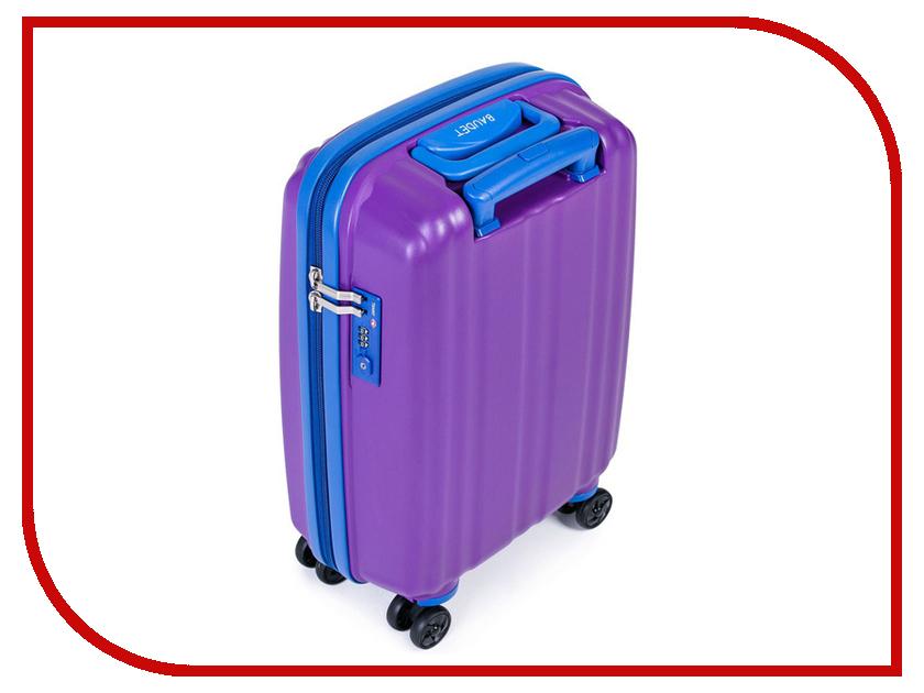 Чемодан Baudet BHL0708803 h-48cm 36L Violet-Blue