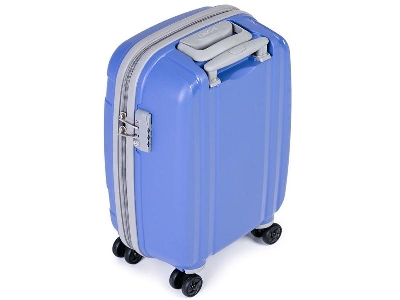 Чемодан Baudet BHL0708802 h-48cm 37L Light Blue-Grey цены онлайн