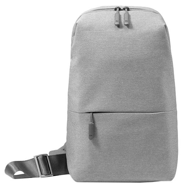 Рюкзак Xiaomi MI Chest Bag Light Grey рюкзак benro koala 200 purple light grey