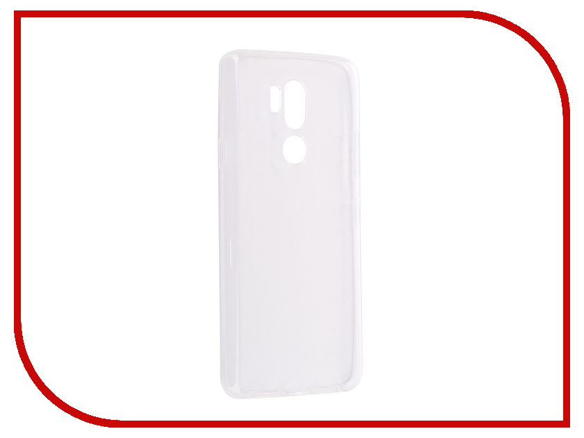 Аксессуар Чехол для LG G7 ThinQ Ultra Zibelino Thin Case White ZUTC-LG-G7-WHT ikki ultra thin protective 0 2mm pp back case for iphone 6 4 7 translucent white