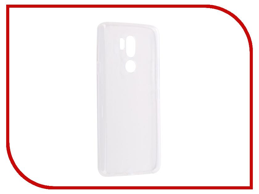 Аксессуар Чехол для LG G7 ThinQ Ultra Zibelino Thin Case White ZUTC-LG-G7-WHT кейс для назначение lg k10 2018 g7 бумажник для карт кошелек со стендом чехол дерево твердый кожа pu для lg v30 lg v20 lg q6