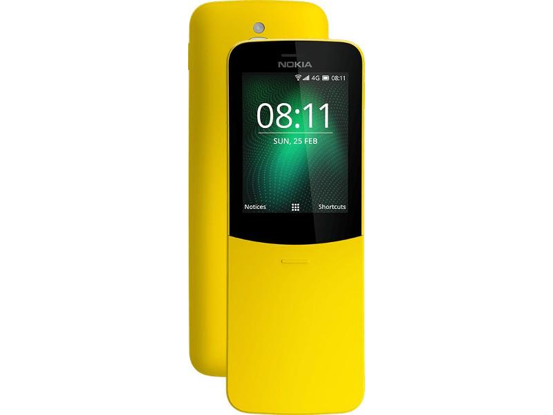Сотовый телефон Nokia 8110 4G Yellow