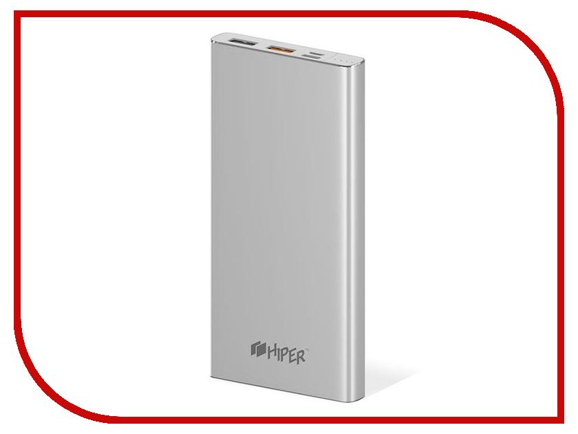 Аккумулятор Hiper PowerBank 10000mAh Silver MPX10000