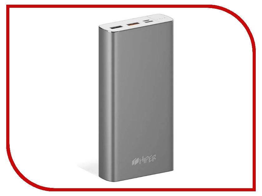 Аккумулятор HIPER MPX20000 20000mAh аккумулятор joyroom nick d m175 20000mah red