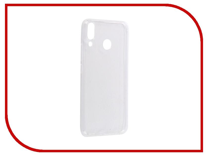 Аксессуар Чехол для ASUS Zenfone 5 ZE620KL iBox Crystal Silicone Transparent