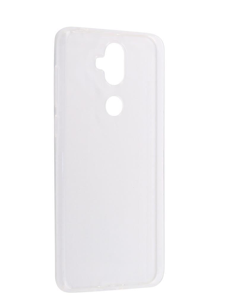 Аксессуар Чехол iBox для ASUS Zenfone 5 Lite ZC600KL Crystal Silicone Transparent аксессуар чехол ibox для honor 9 lite ibox crystal silicone transparent