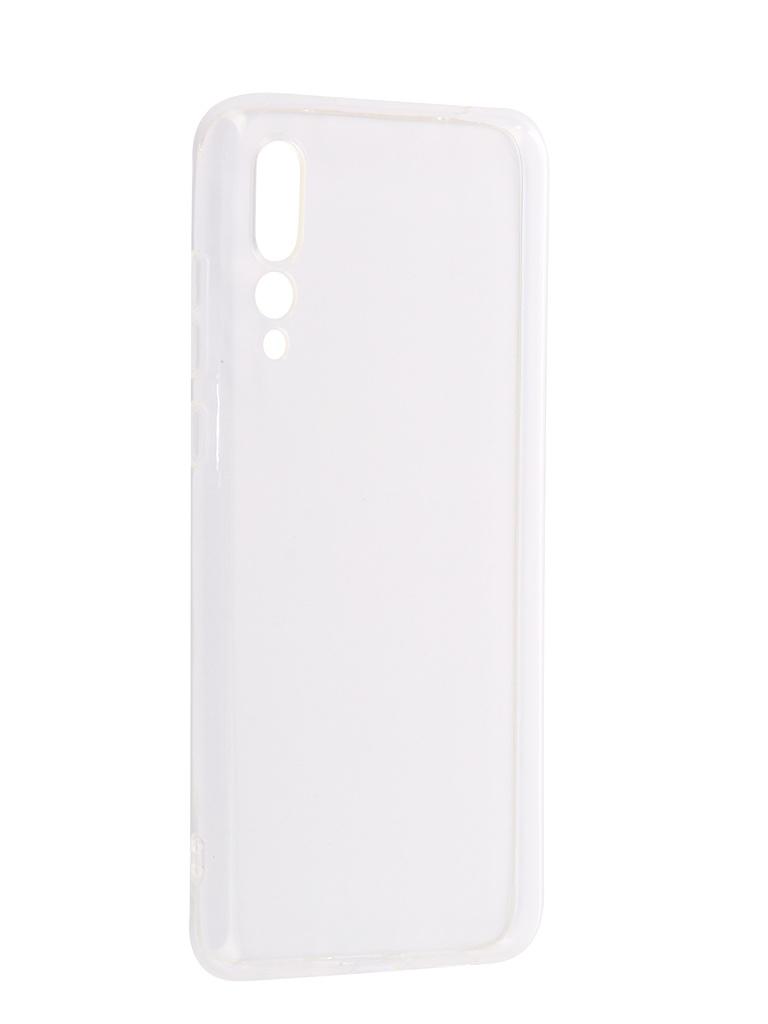Аксессуар Чехол iBox для Huawei P20 Pro Crystal Silicone Transparent аксессуар чехол для huawei p20 pro ibox crystal silicone transparent